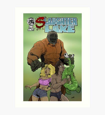 Slaughter Lake Cover Art Print