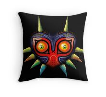 Majora's Mask (Zelda) Throw Pillow