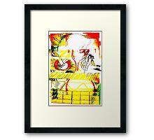 art, gonzo, abstraction Framed Print