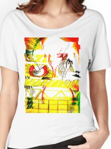 art, gonzo, abstraction Women's Relaxed Fit T-Shirt