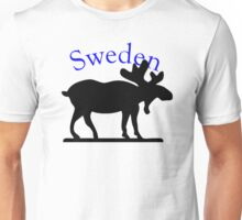 Sweden Moose Unisex T-Shirt