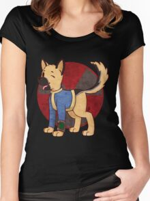Vault Dog Women's Fitted Scoop T-Shirt