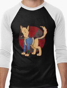 Vault Dog Men's Baseball ¾ T-Shirt