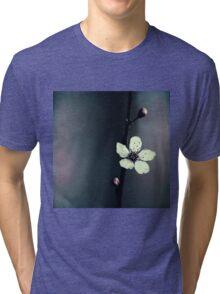 cherry blossom flower Tri-blend T-Shirt