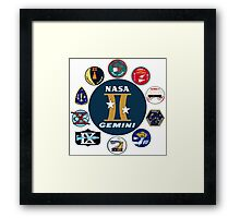 Project Gemini Composite Patch Framed Print