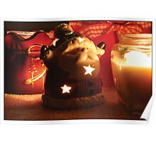 Tealight ho-ho-ho-lder Poster