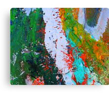 Cadillac Ranch Abstract #2 Canvas Print