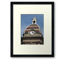 Colourful Capital Framed Print
