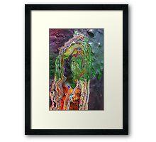 Cadillac Ranch Abstract #3 Framed Print