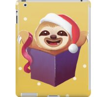 Christmas Gift Baby Sloth iPad Case/Skin