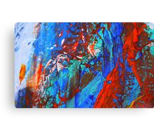 Cadillac Ranch Abstract #4 Canvas Print
