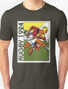 Retro rugby 1924 vector art T-Shirt
