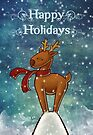 Holiday Reindeer by Ine Spee