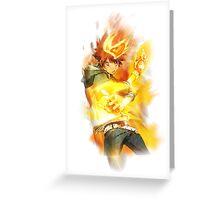 Katekyo Hitman Reborn - Sawada Tsunayoshi (Tsuna) Greeting Card