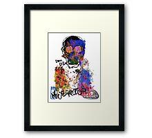 dia de los muertos. Framed Print