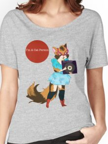 I'm a Cat Person-Girl Women's Relaxed Fit T-Shirt