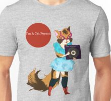 I'm a Cat Person-Girl Unisex T-Shirt