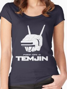 Virtual-On Temjin Women's Fitted Scoop T-Shirt