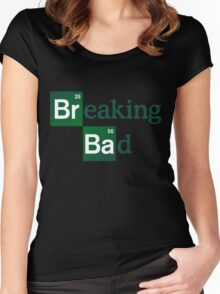Breaking Bad Logo Women's Fitted Scoop T-Shirt