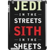 Jedi In The Streets Sith in the Sheets iPad Case/Skin