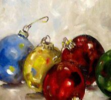Christmas Ornaments by artbydelilah