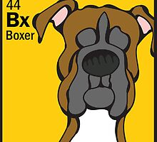 Boxer - The Dog Table by Angry Squirrel Studio