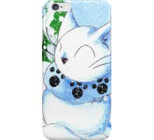 Snowcat iPhone Case/Skin