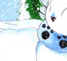 Snowcat Sticker