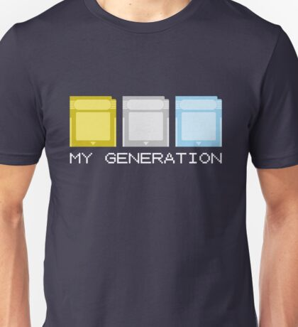 Gold Silver Crystal Generation Unisex T-Shirt