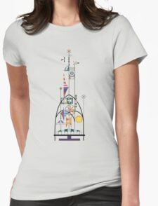 Tower of the Four Winds Womens Fitted T-Shirt
