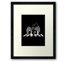 Abby Normal Road Framed Print