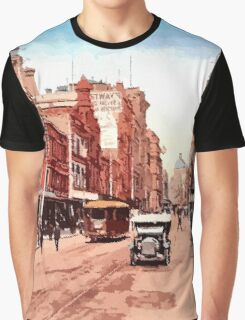 Sydney history, George Street around 1900 Graphic T-Shirt