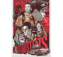 Cool Ghostbusters Movie Poster Photographic Print