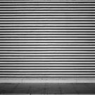 Black and White Wall by Dan Vann