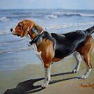 Beagle Sea View by Anne Zoutsos
