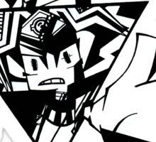 angry pharaoh Sticker
