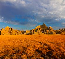 Sunrise over Badlands National Park .6 by Alex Preiss