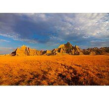 Sunrise over Badlands National Park .6 Photographic Print