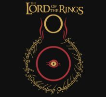 """Lord of the Rings"" 1st edition logo - J.R.R. Tolkien by FabFari"