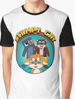 Minecraft Youtuber Stampy Cat, iBallisticsquid, L for Lee x Graphic T-Shirt