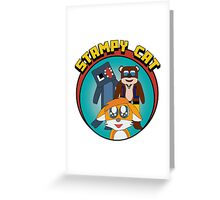 Minecraft Youtuber Stampy Cat, iBallisticsquid, L for Lee x Greeting Card