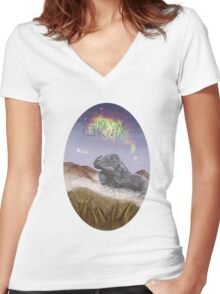 cant take the sky from me Women's Fitted V-Neck T-Shirt