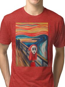 Shy Guy Scream Tri-blend T-Shirt