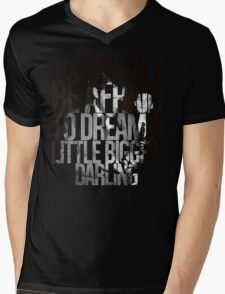 You Mustn't Be Afraid To Dream A Little Bigger, Darling Mens V-Neck T-Shirt