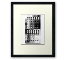 Touri-R by Victor Vasarely Framed Print