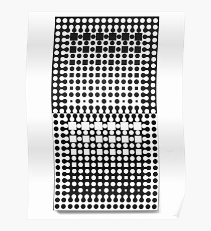 Touri-R by Victor Vasarely Poster