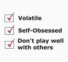 Tony's Checklist by ohemgeeorgia
