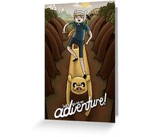 Let's Adventure Greeting Card