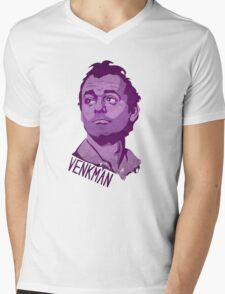 Team Venkman Mens V-Neck T-Shirt