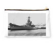 USS Iowa Studio Pouch